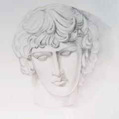 Голова (карандаш)
